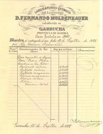 ANALISIS F. MOLDENHAUER