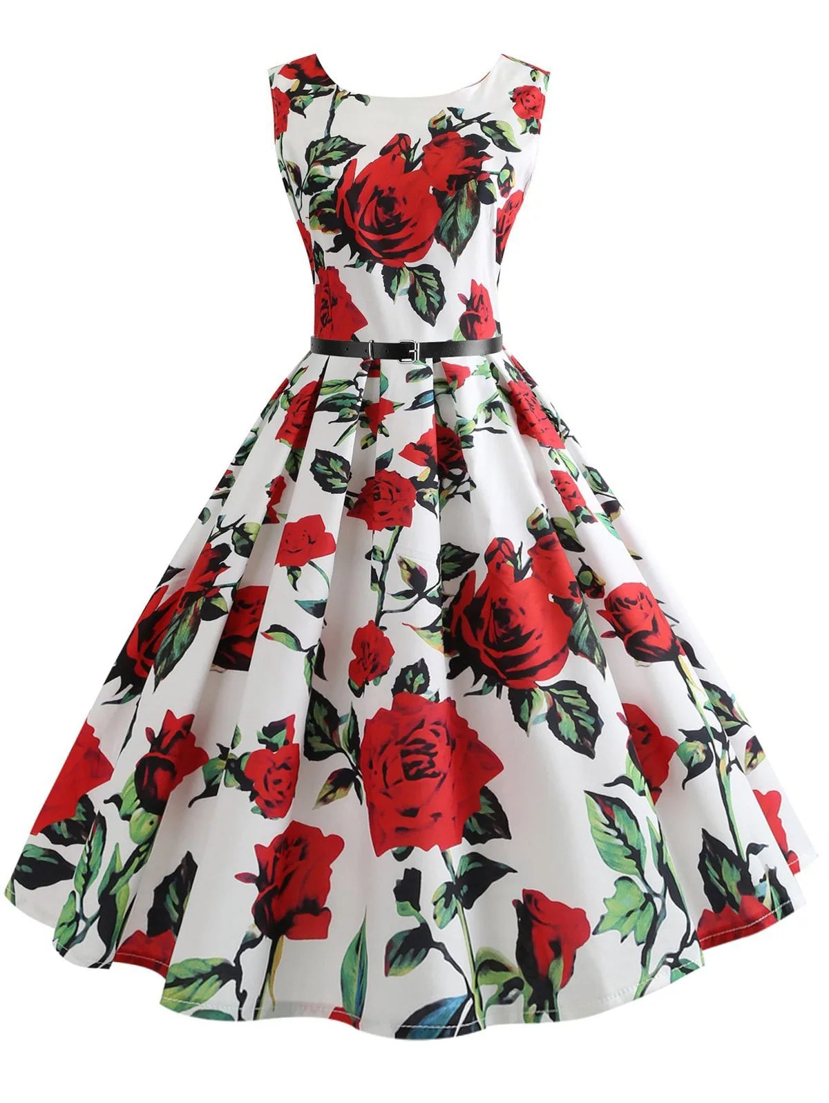 robe vintage années 50