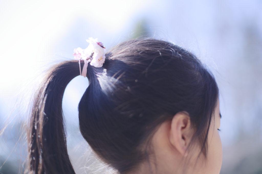 梅の花飾り