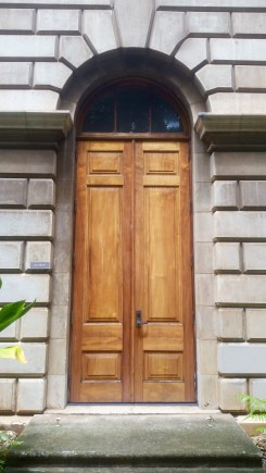 Massive Door at the Capital Building.