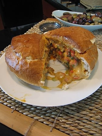 Crawfish Bread