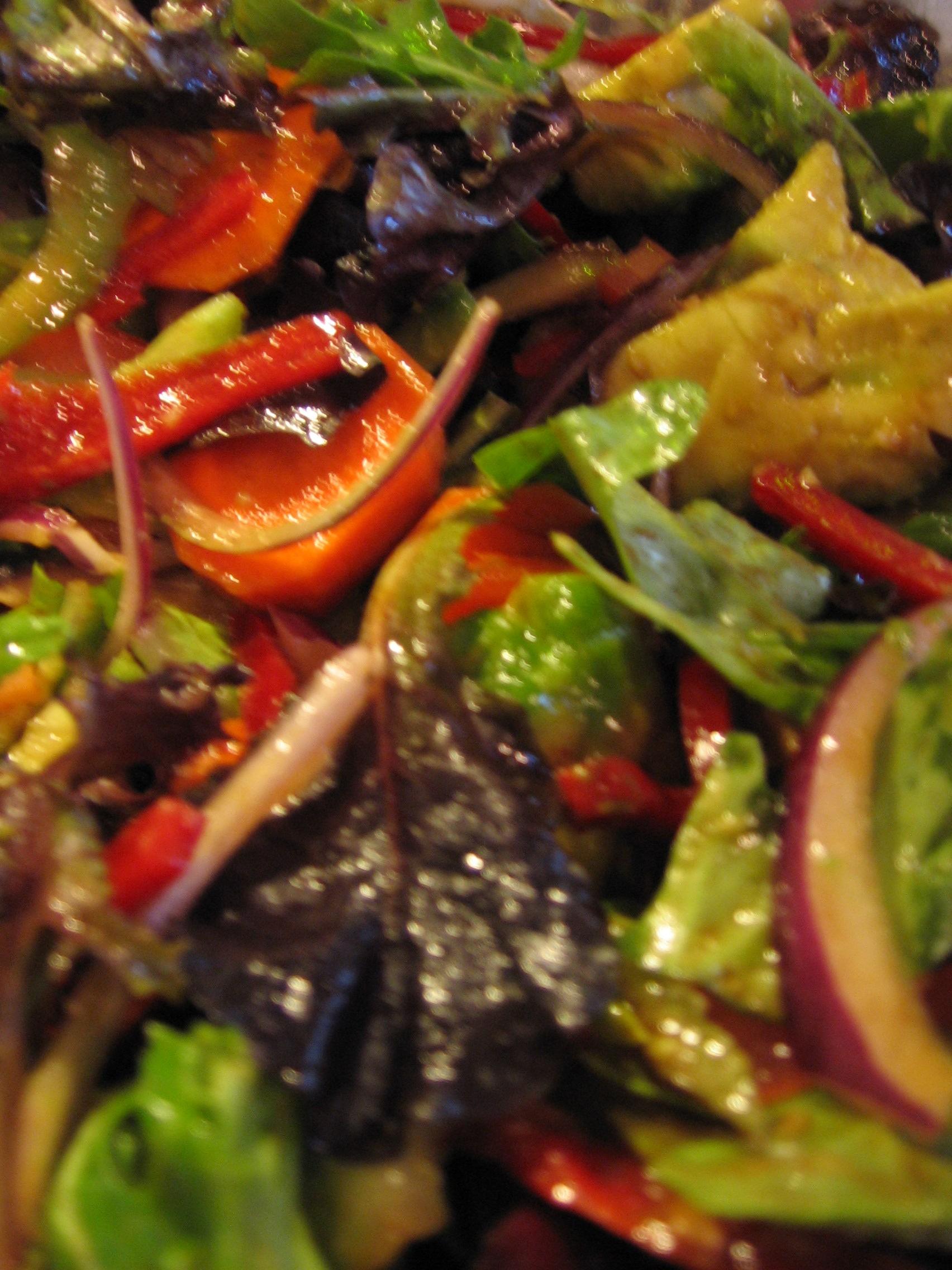 Oil and Vinegar Salad