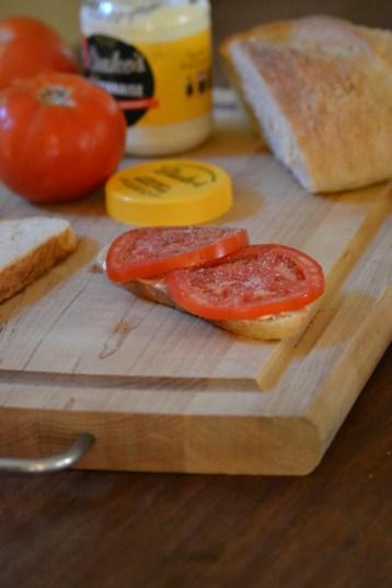 The Ultimate Tomato Sandwich (www.mincedblog.com)