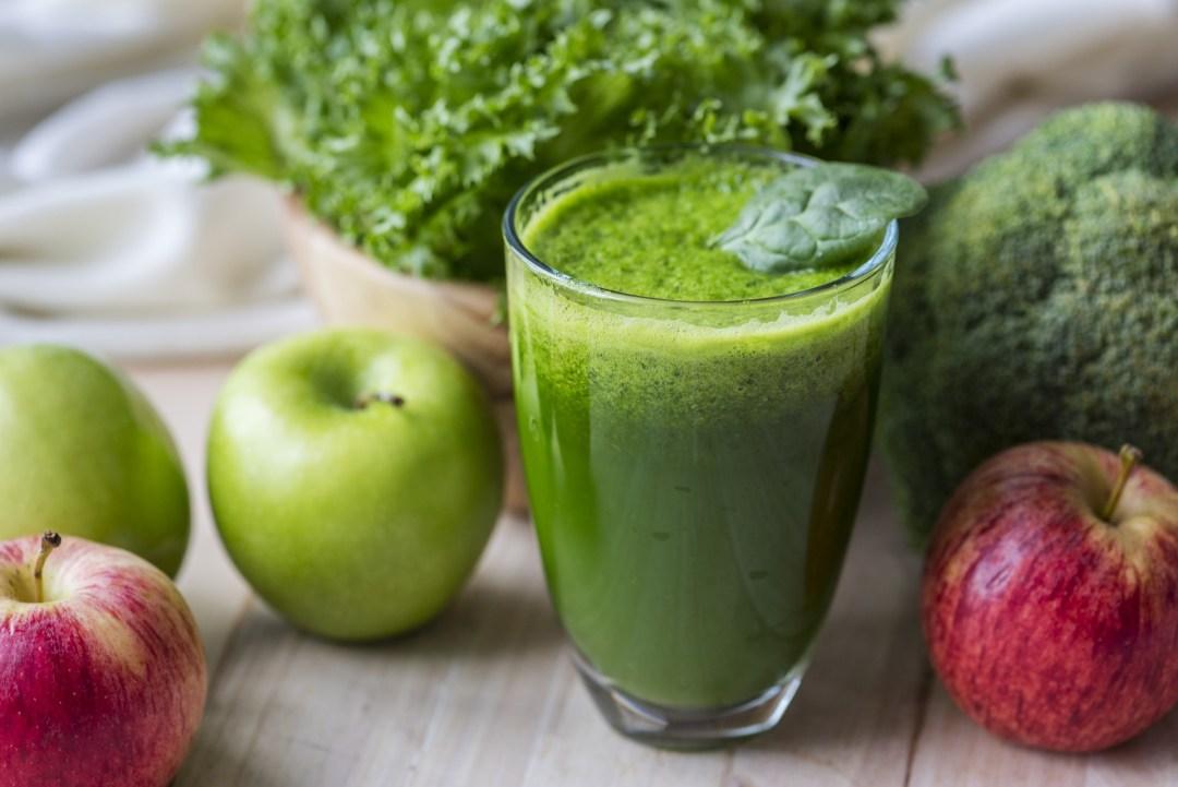 jus de legume vert antioxydant