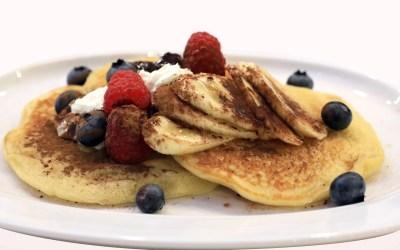 Pancake à la banane