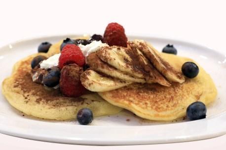 Délicieux pancake lowcarb à la banane