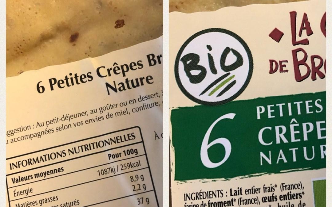 Etiquettes Alimentaires et alimentation Cétogène
