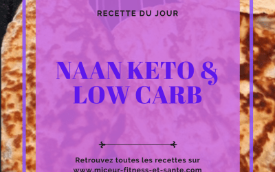 Naan keto & low carb : ma recette !