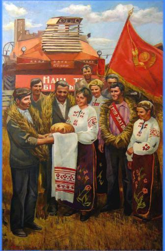cernov-anatoli-mikhailovich-festa-del-grano-anni-80-olio-su-tela-178-x-118-5-cm