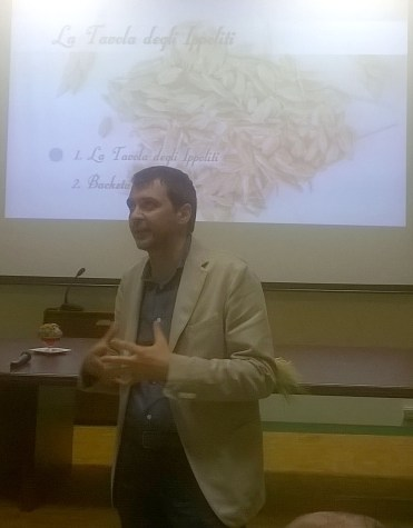 Il sindaco Leoni alla presentazione del progetto