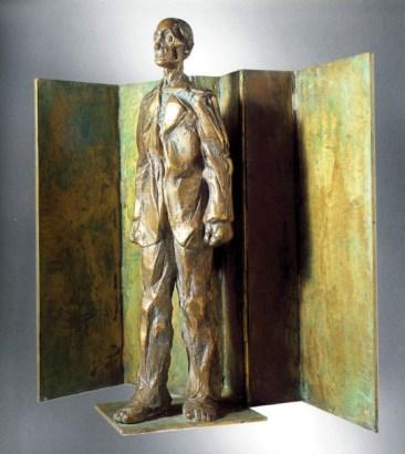 7-Franco-Fossa-uomo-1977-bronzo-45x45cm
