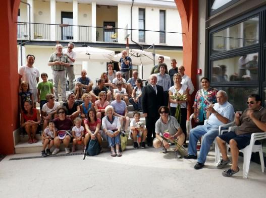 Foto di gruppo al termine dell'escursione