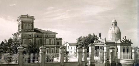 Complesso di villa Bisighini nei primi anni Trenta del Novecento