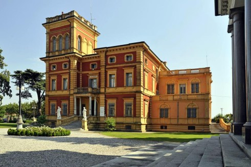 Villa Bisighini come si presenta oggi