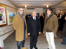 sindaco Chizzoni e gli assessori Grassi e Zen