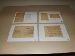 Alcuni dei documenti ritrovati