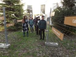 Alcuni dei giovnai protagonisti del progetto