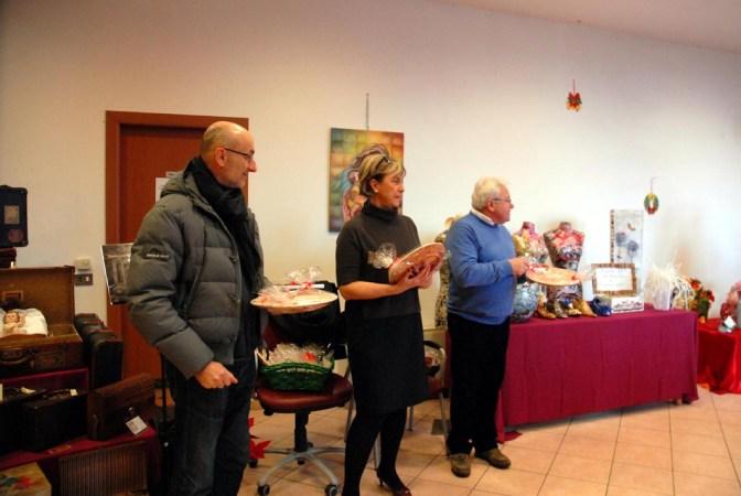 Il sindaco di Rodigo Gianni Chizzoni con gli assessori Patrizia Chiminazzo e Gianni Grassi