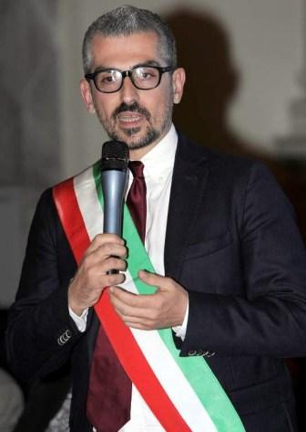 Mattia Palazzi - sindaco di Mantova