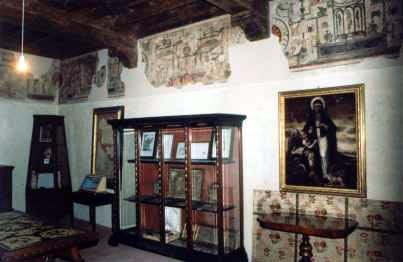 oggetti appartenuti alla baeta Osanna