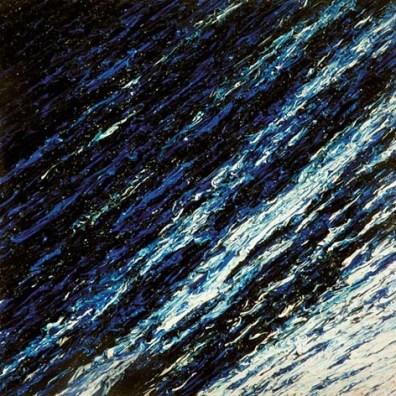 Anna Ghisleni - Scomposizione - Blu n.2