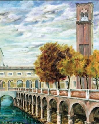 Giorgio Somensari- Il Rio - Le Beccherie e Le pescherie