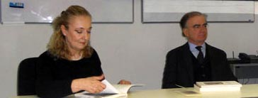 Marida Brignani e Maurizio Bertolotti