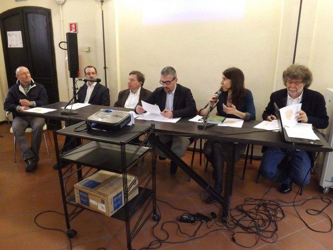Da six don Alberto Formigoni - Giuliano Annibaletti - Mario Anghinoni - Mattia Palazzi - Cristina Cazzola e Cesare Guerra