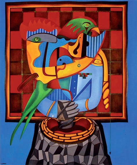 Il Generale (2004 - olio su tela)