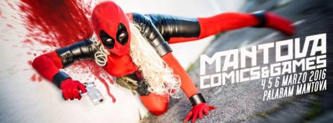 mantova comics & games 2016
