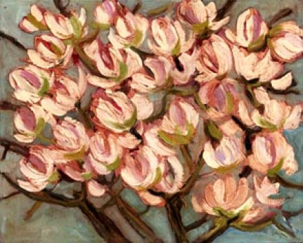 NEGRI SANDRO, Rami di magnolia, 2008, olio su tela, 40x50 (200).jpg