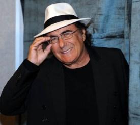 Il cantante Al Bano nella sala del 61mo Festival della canzone italiana, oggi 15 febbraio 2011 a Sanremo. ANSA/CLAUDIO ONORATI