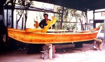 Barca ultimata al 'grezzo'