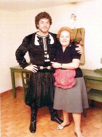 Nelia Frascari con il tenore Malaghini