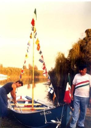 varo del 'Rivalta' di Primet - prima imbarcazione a norma per il trasporto delle persone
