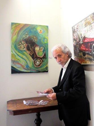 Antonio Pilato espone alla rassegna _Artisti per Nuvolari_ 2015.jpg