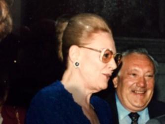 Giovanni dordoni con il soprano Renata Tebaldi
