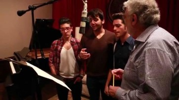 IL VOLO IN SALA DI REGISTRAZIONE CON PLACIDO DOMINGO maxresdefault