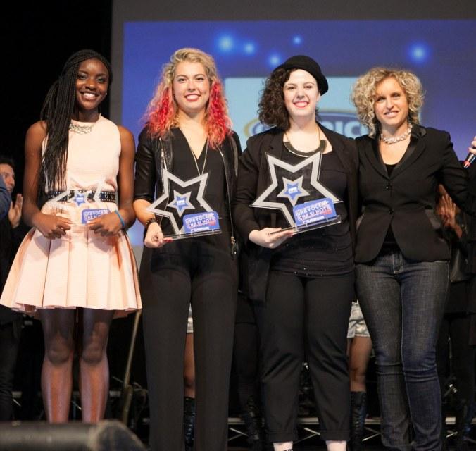Le vincitrici edizione 2015