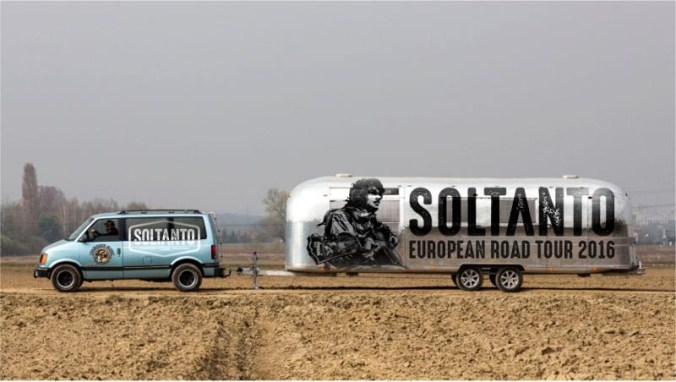 Soltanto caravan european road tour