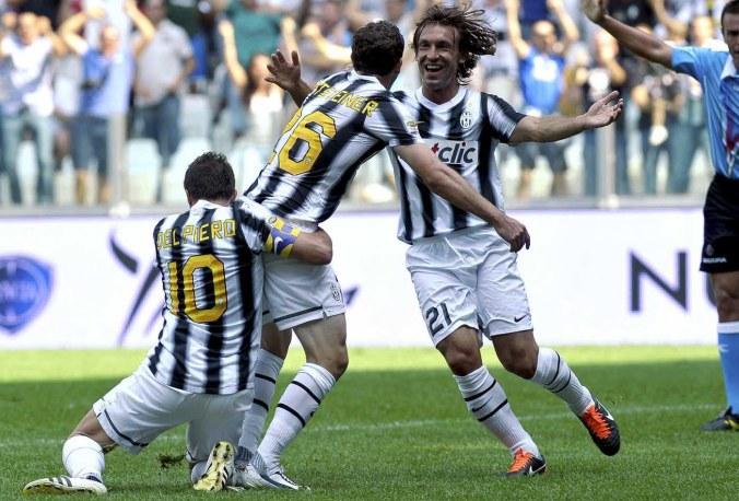 Del Piero, Stephan Lichsteiner, Andrea Pirlo_Photocredit_LaPresse.jpg