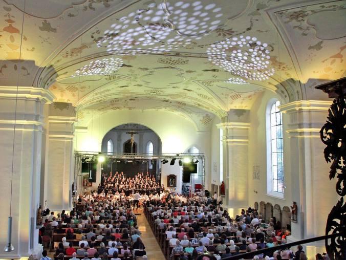 Foto del concerto del 2 luglio 2016 presso la Stiftskirche di Horb am Neckar-min