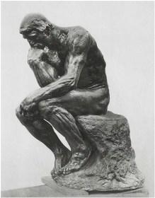 """""""Il Pensatore"""" Auguste Rodin"""