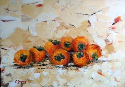 Ennio Gaspari - cachio - olio su tela