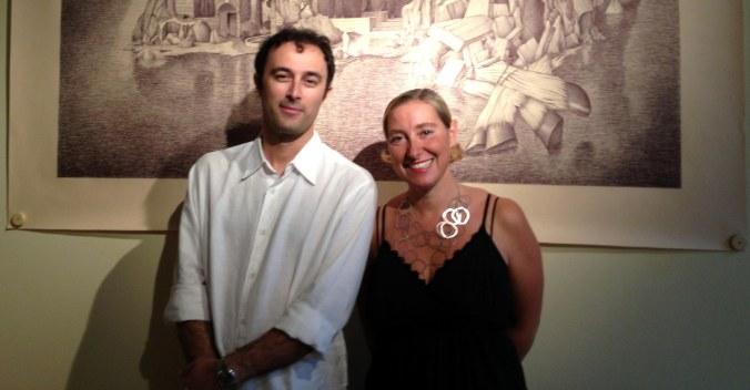 lartista-marcello-carra-e-maria-livia-brunelli-direttrice-della-mlb-home-gallery