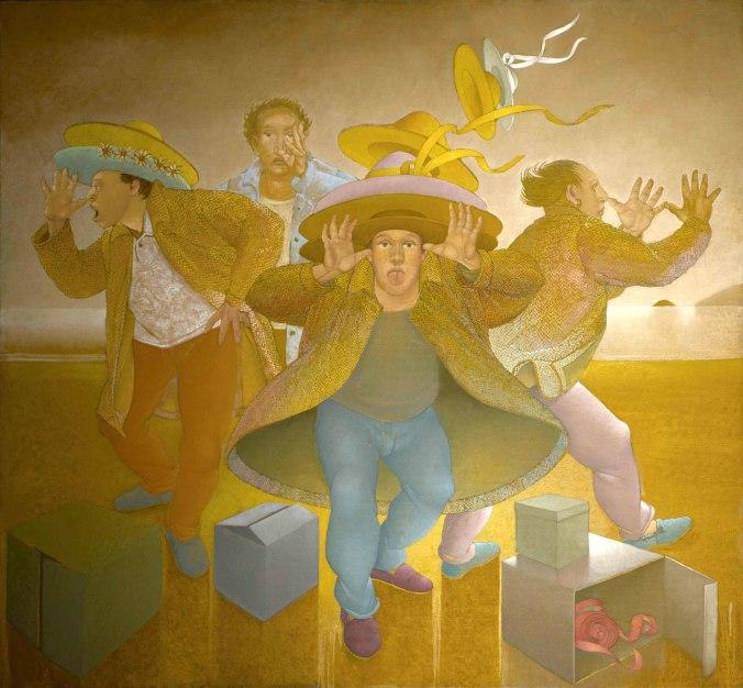 danza-venditori-di-cappelli-sulla-spiaggia-di-follonica-150x150-olio-su-tela-2015-propr-artista