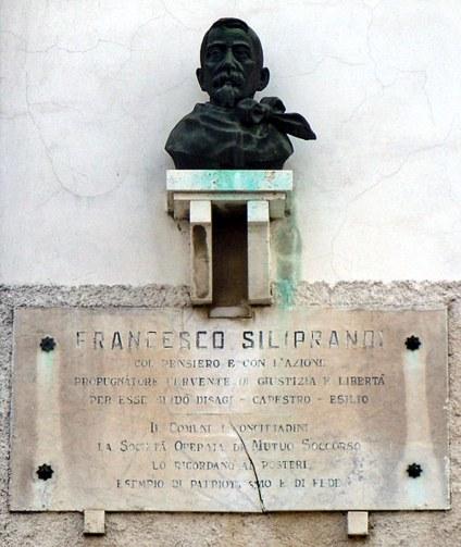 Casatico - lapide a Francesco Siliprandi