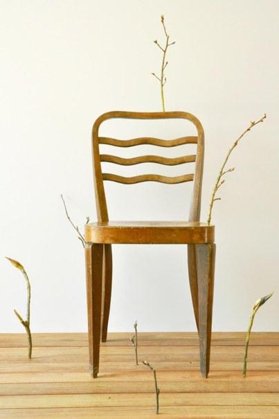 STEFANO SCHEDA, Fuori, dentro, gemmazione_installazione sedia 2009 - Padiglione 26 stand A62.jpg