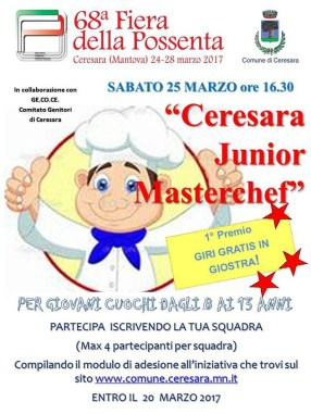 ceresara junior masterchef