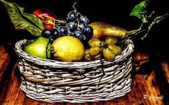 Cesto di frutta di Piero Cazzoli
